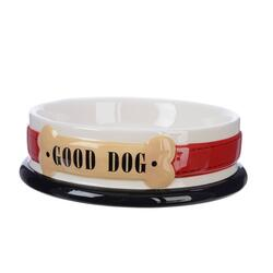 Dog feedingbowl dolomite