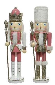 Nutcracker  pink/colour Soldier or King