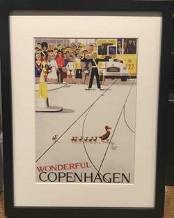 Wonderful Copenhagen Plakat Indrammet