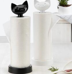 Miaou Cat Paper Towel Stand