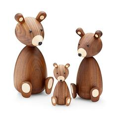 Bamse Bear american walnut