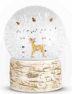 Deer & Birds Shaker snowball