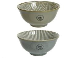Bowl flower - stripe