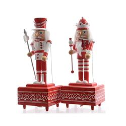 musicbox nutcracker red/white