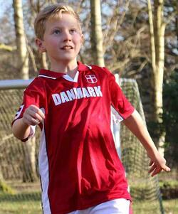 Football Denmark blouse
