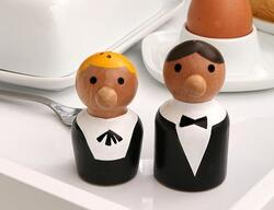 At Your Service Salt & Pepper Shaker