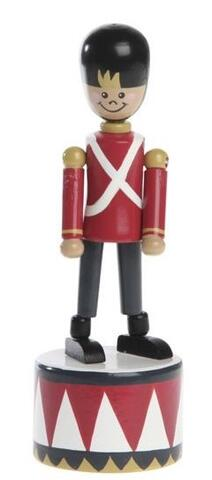 Soldier push button puppet