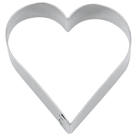 Cookie Cutter Heart steel