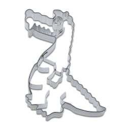 Cookie cutter with stamp Crocodile