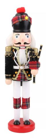 Nutcracker Scottish bagpiper