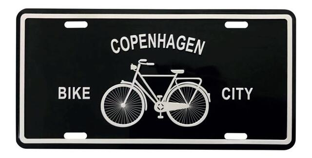 Sign Copenhagen Bike City