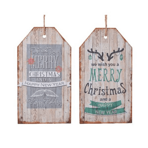 Sign MDF  we wish you a merry Christmas