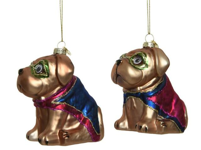 superdog christmas hanger