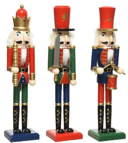 Nutcracker blue, green or red