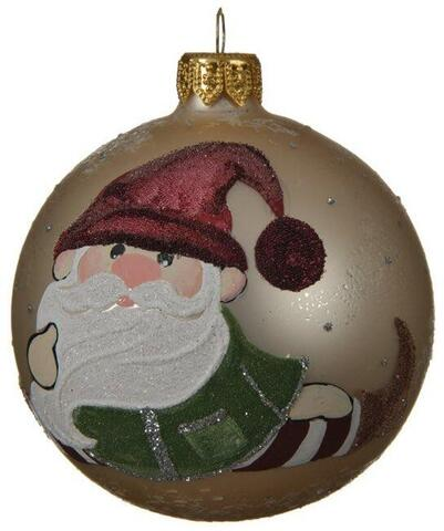 christmas bauble gnome