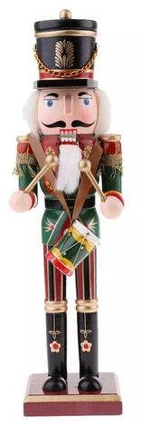 Nutcracker with drums green