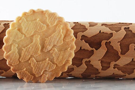 Cocker spaniel Rolling pin