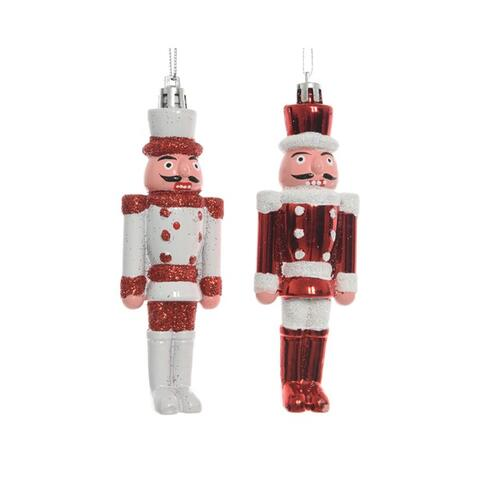 nutcracker with hanger red / White