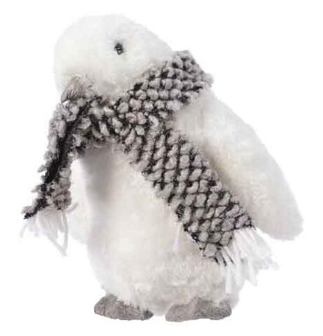 Penguin with scarf