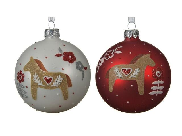 christmas bauble horse darla