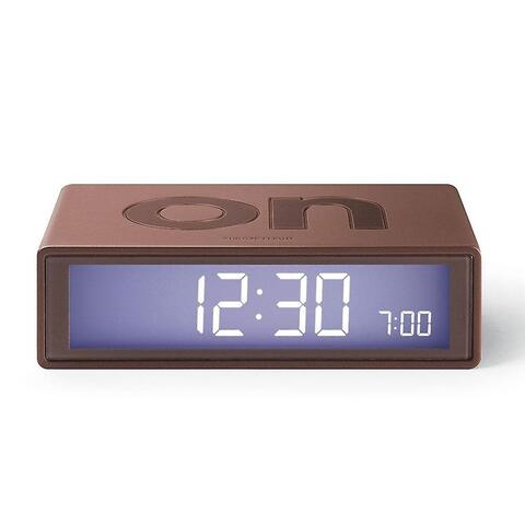 FLIP Alarm clock Copper brun