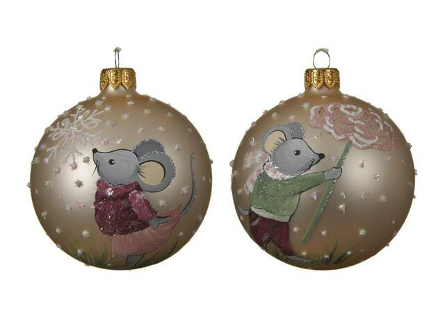 Christmas bauble mouse