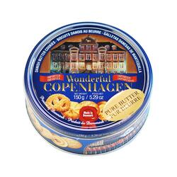 Danish Butter cookies in metal box Wonderful Copenhagen