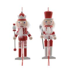 nutcracker pullpuppet red/white s