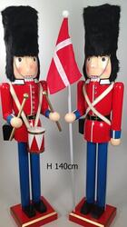 Nutcracker Danish guards XL