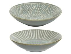 Bowl salad lace embossed