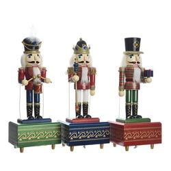 Nutcracker music box glitter