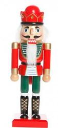 Nutcracker Green / red