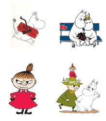 Moomin postcards