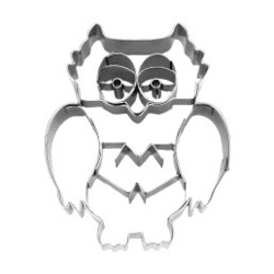 Cookie cutter with stamp Owl